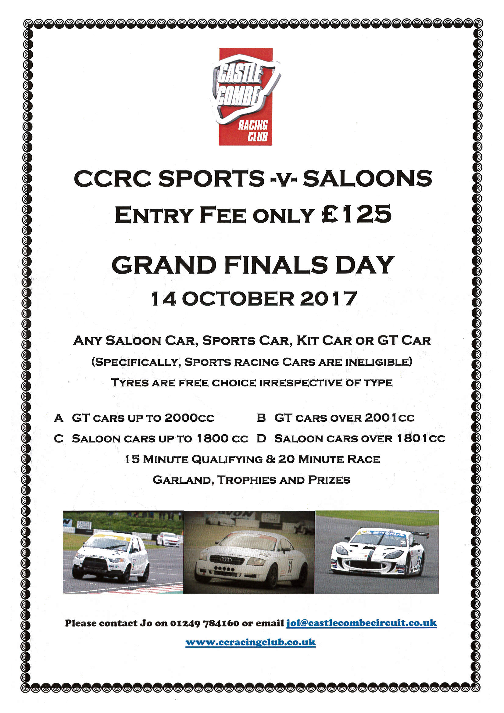 CCRC Sports vs Saloons