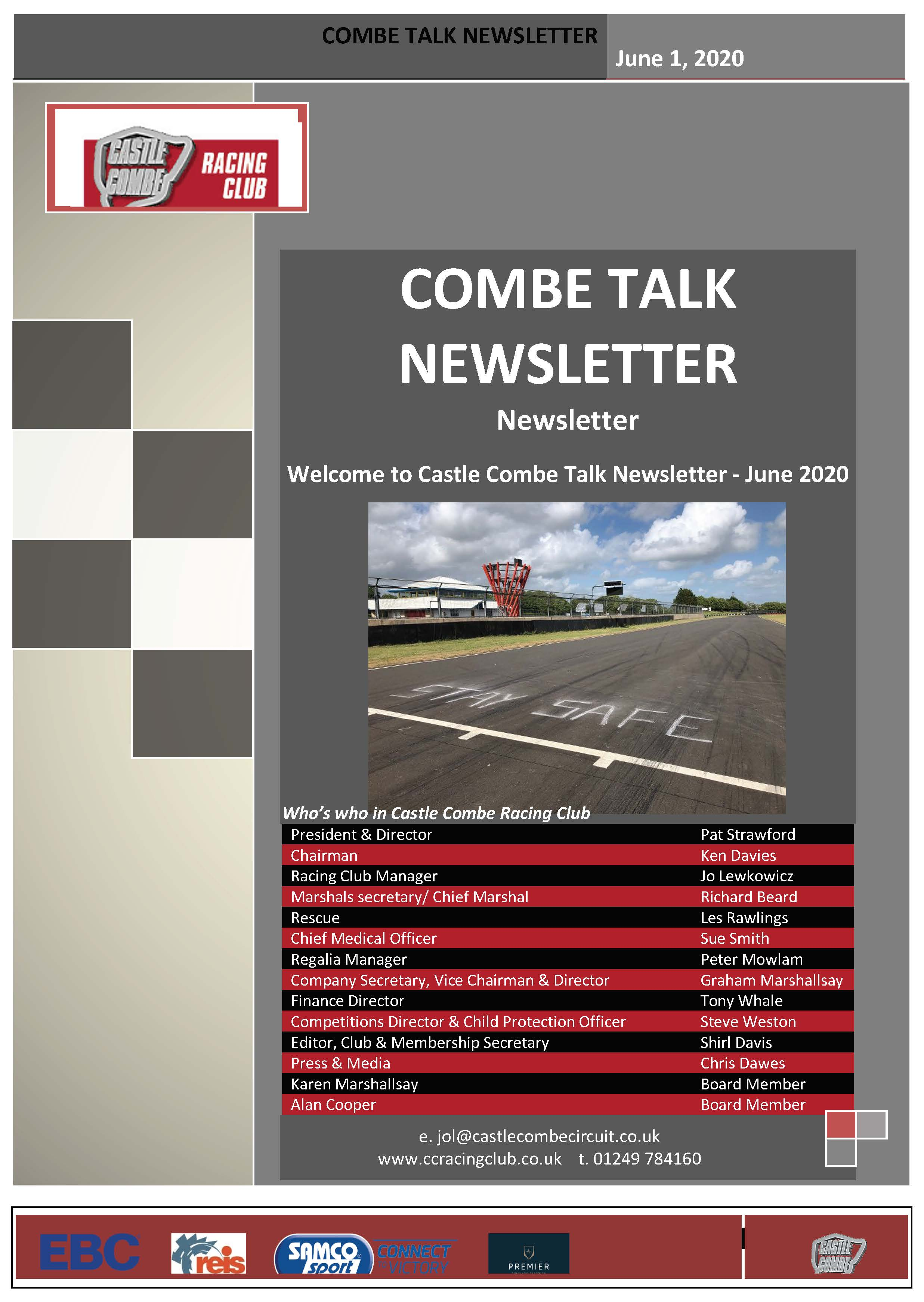 Combe Talk June 2020 Newsletter